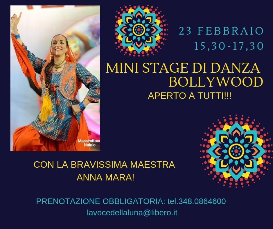 Bollywood Dance- mini stage di danza aperto a tutti