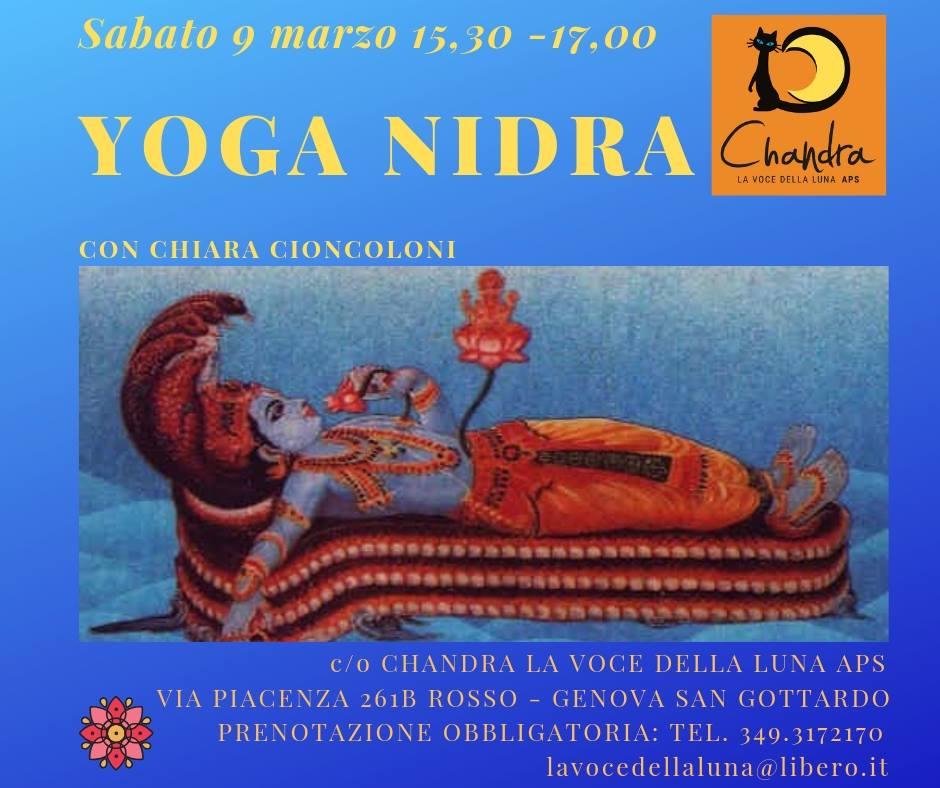 Yoga Nidra-Con Chiara Cioncoloni