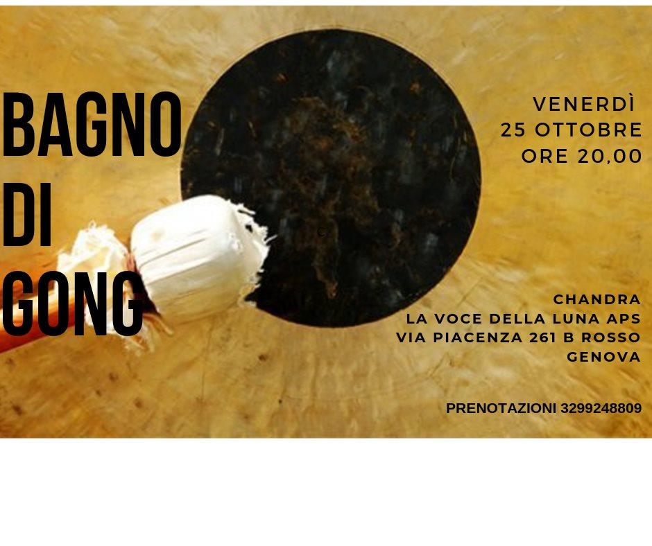 BAGNO DI GONG: I SUONI DELL'UNIVERSO, con DANIELA ANZALONE