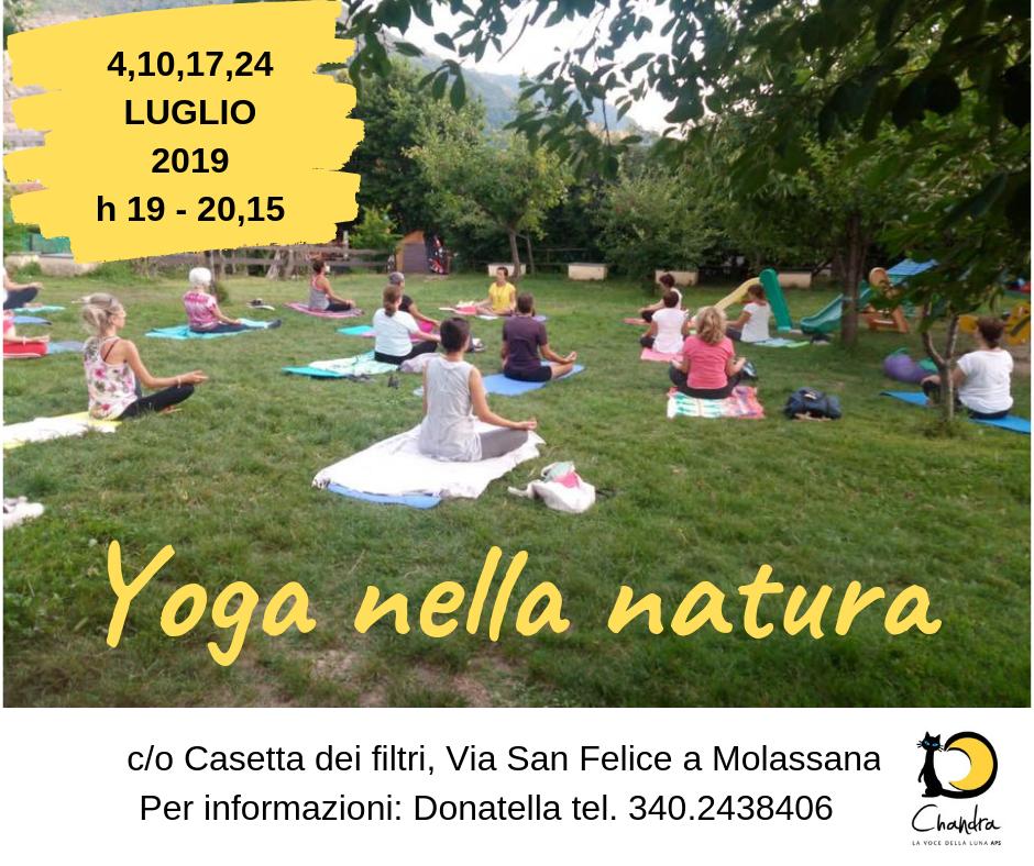 Yoga nella Natura Molassana